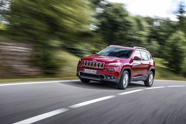 Jeep Cherokee 2,0 Multijet 140 ch, l'international