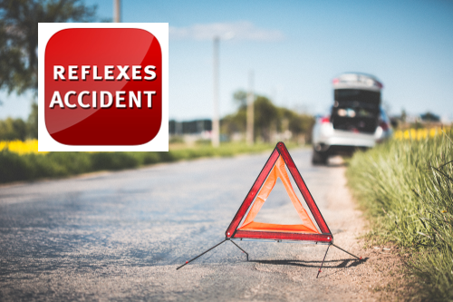 Application mobile Réflexes Accident
