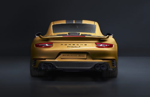 Porsche 911 Turbo S Exclusive Series arrière