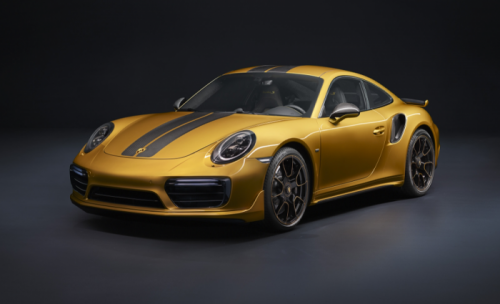 Porsche 911 Turbo S Exclusive Series avant
