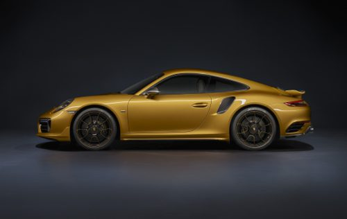 Porsche 911 Turbo S Exclusive Series profil