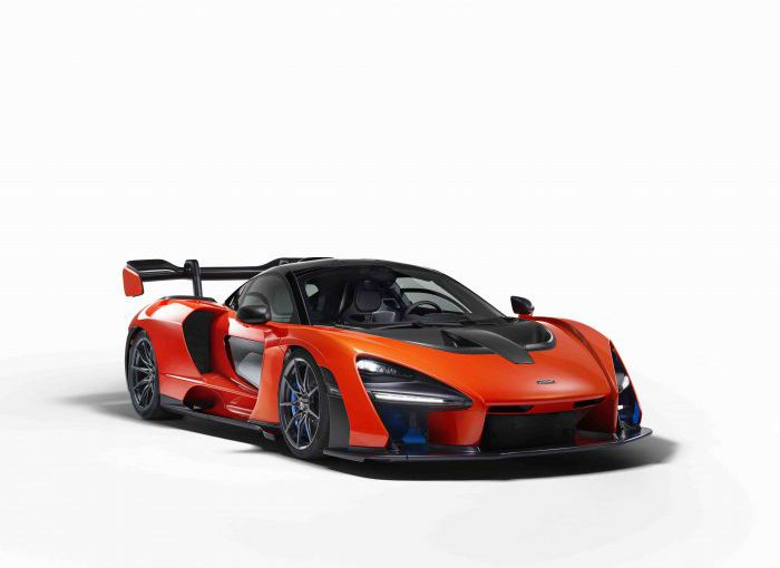 La plus performante des McLaren : la Senna