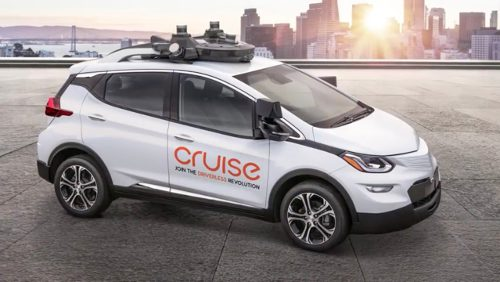General Motors Cruise AV Chevrolet Bolt
