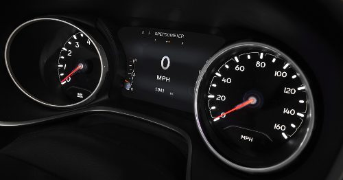 Instrumentation du Jeep Compass