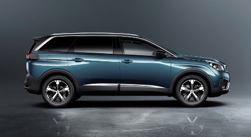 SUV 7 places : Peugeot 5008