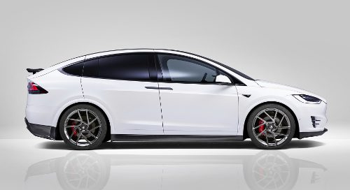 SUV 7 places : Tesla Model X
