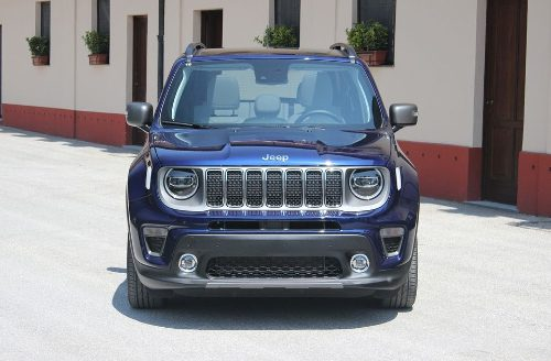 Face avant du Jeep Renegade 2018