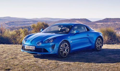 Essai Alpine A110 : design